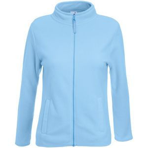"Толстовка ""Lady-Fit Micro Jacket"", небесно-голубой, 100% п/э, 250 г/м2"